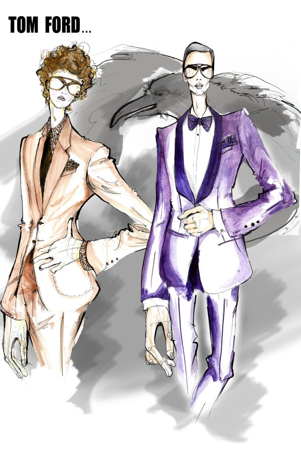 7TH MAN MAGAZINE - THE MENSWEAR FASHION BLOG: Fashion Illustration.