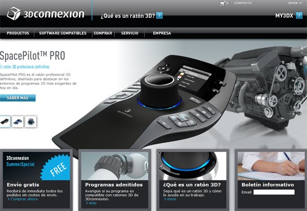 Dm dise o multimedia mouse 3d for Programas para diseno 3d