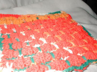 mrs b pumpkin patch and gourds dishcloth pattern free knitting pattern