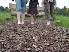 Blote voetenpad in Zutendaal