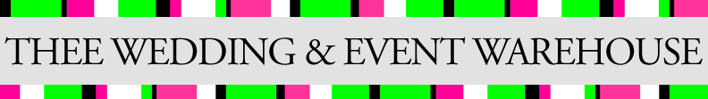 Thee Wedding Warehouse Blog
