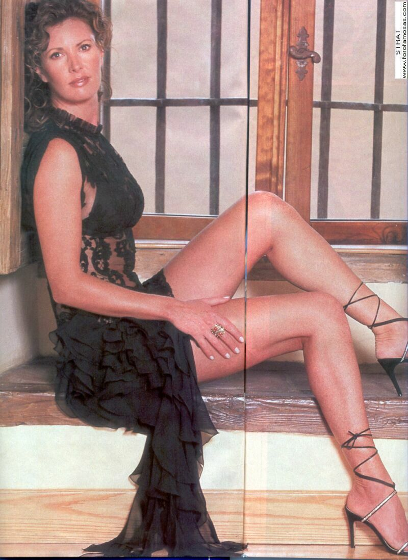 hunter tylo on pantyhose