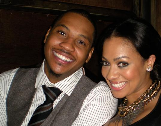 carmelo anthony and wife. Williams + Carmelo Anthony