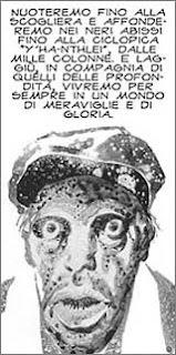 Alberto Breccia, da 'La maschera di Innsmouth'