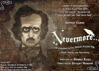 Nevermore... An Evening With Edgar Allan Poe poster