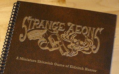 Strange Aeons Rulebook cover