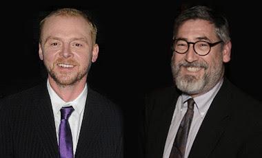 Simon Pegg John Landis Burke and Hare image
