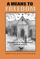 A Means to Freedom: The Letters of H.P. Lovecraft and Robert E. Howard cover