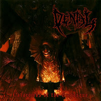Denial Catacombs of the Grotesque CD cover