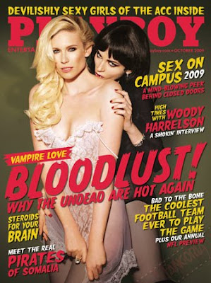 Playboy october 2009 vampire cover
