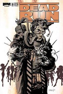 Dead Run 3 comics cover