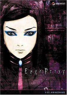 Ergo Proxy anime copertina