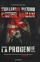 La progenie Mondadori Guillermo Del Toro Chuck Hogan copertina