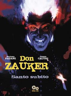 Don Zauker Santo Subito fumetto copertina