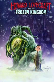Howard Lovecraft and The Frozen Kingdom comics cover fumetto copertina