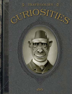 Travis Louie's Curiosities book cover copertina