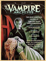 The Vampire Archives cover copertina