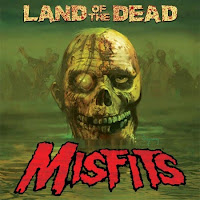 Land of the Dead Misfits cover copertina