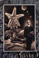 H.P. Lovecraft, illustrazione di J.K. Potter