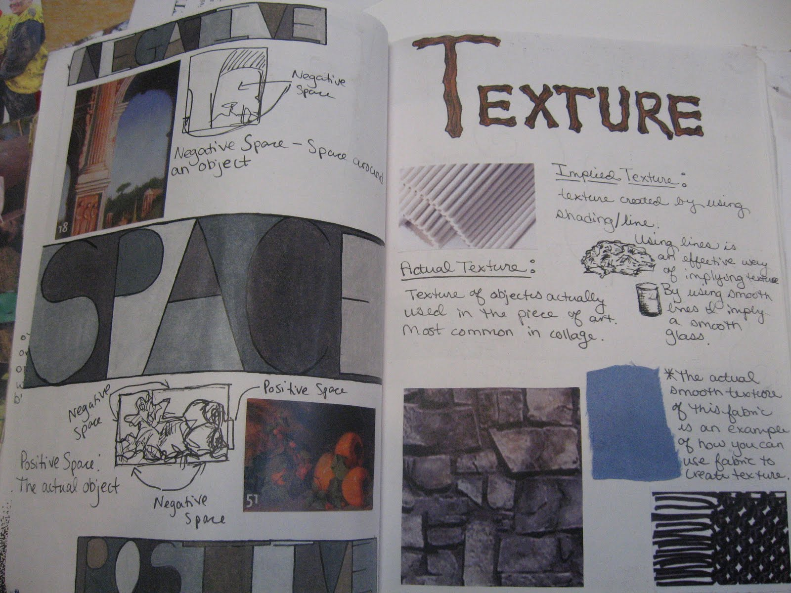 Victor functional arts workbook assignment 1 elements for Interior design 7 elements