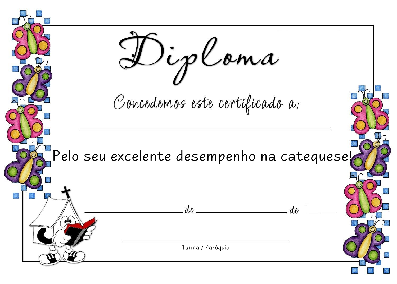 Diplomas Para Catequistas