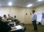 Prof. Fabio Geraldo Veloso na instrução sobre Segurança Urbana e Preventiva