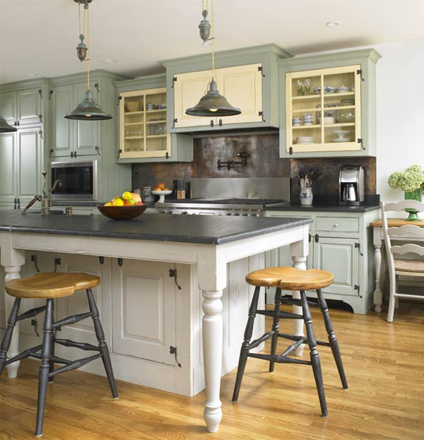 New Kitchen Paint Colors: Kitchen And Residential Design: Reader Question: Can I
