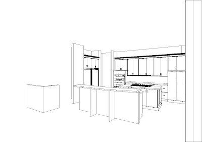 Sketch Kitchen Cabinets Layout