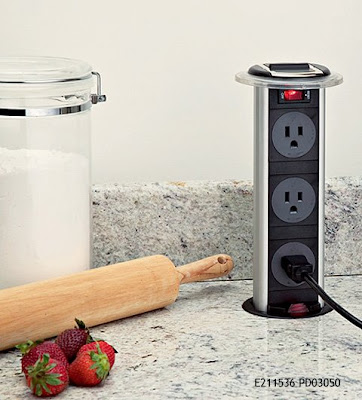 Charming This Is A Pop Up Power Strip For Use On Kitchen Counters From Doug Mockett  And Company Out Of Torrance, CA. Mockett And Company Have A Host Of  Variations On ...