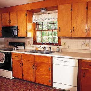 Image Result For Painting Kitchen Cabinets Before And