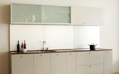 Metallic Kitchen Doors