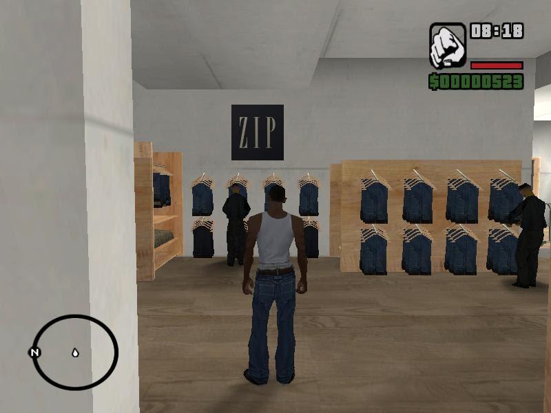 Jogar GTA San Andreas na Internet Samp