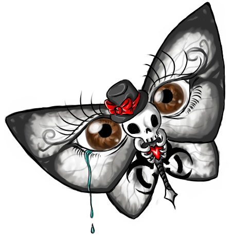 looking eye butterfly | danger butterfly tattoos