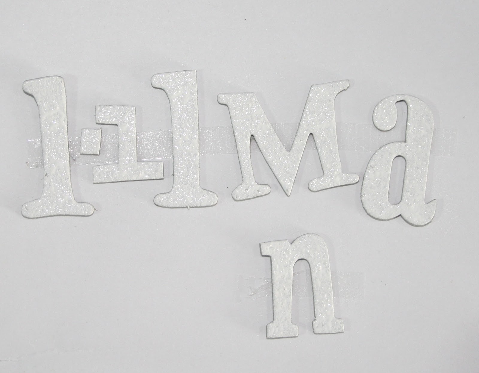 Moments of tranquility by natasha naranjo aguirre for Embossed letters
