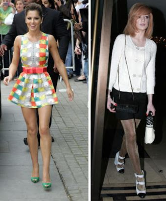 Cheryl Cole Faces Competiton In Glamor Stakes