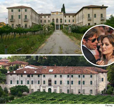 angelina jolie brad pitt italian mansion