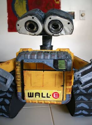 Filth Wizardry Home Made Recycled Wall E