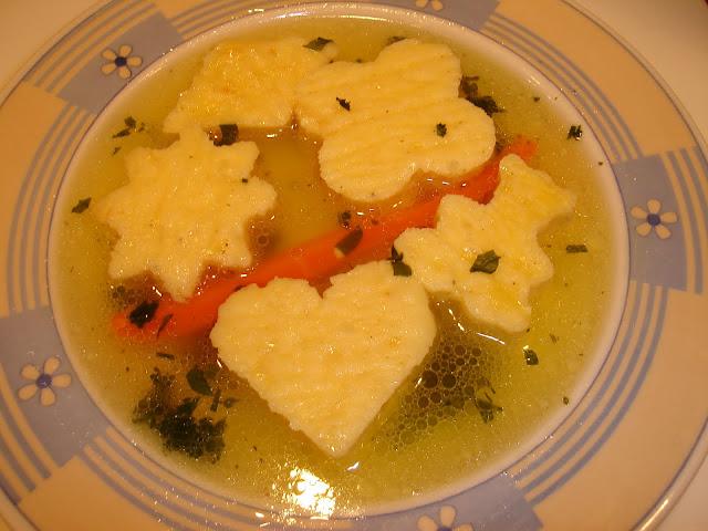 Articole culinare : Supa cu galuste imperiale