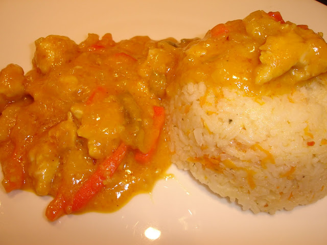 Articole culinare : Orez cu sos curry