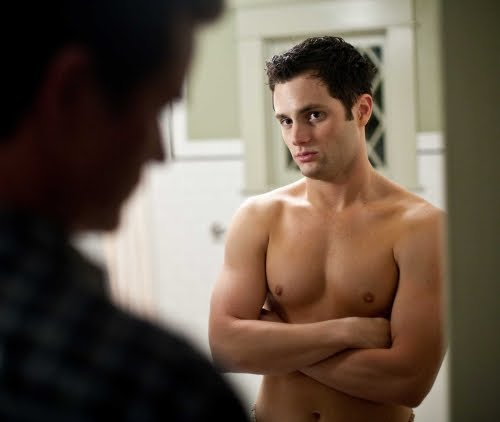 kennedy brock shirtless. Penn badgley is like one of