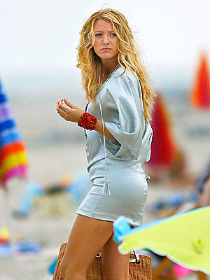 Blake Lively Thong on Blake Lively