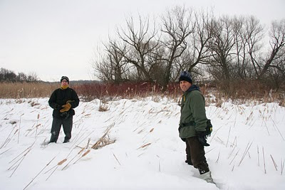 Walking By Wingra Creek In Snow >> Save Our Stream Exploring Lake Wingra In Winter
