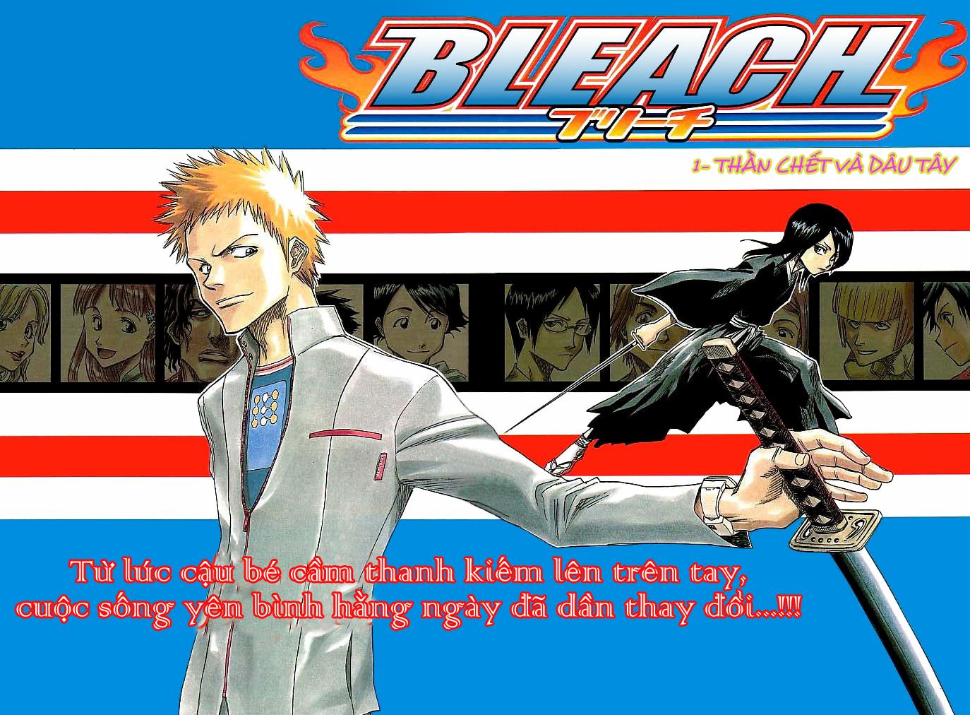 Bleach chap 1 Trang 3