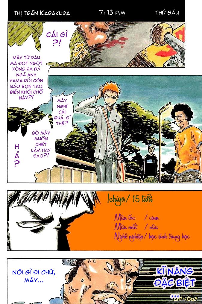 Bleach chap 1 Trang 4