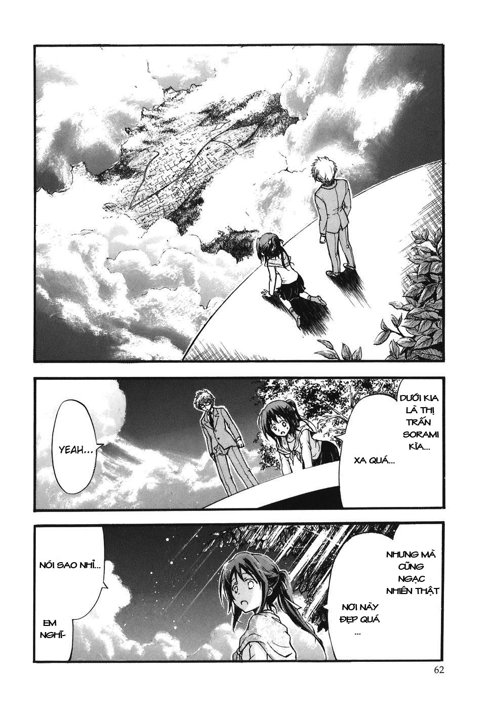 Sora no Otoshimono chap 24 Trang 14