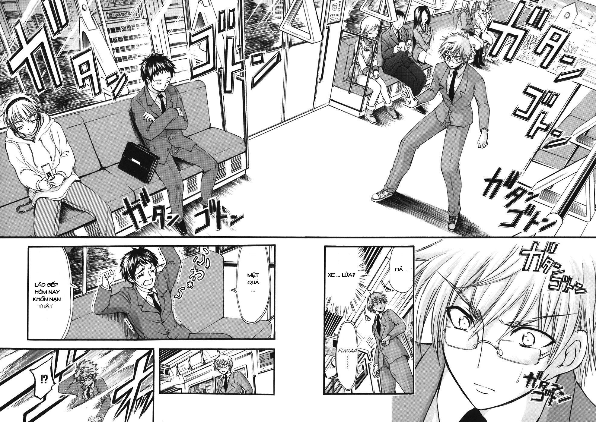 Sora no Otoshimono chap 24 Trang 22