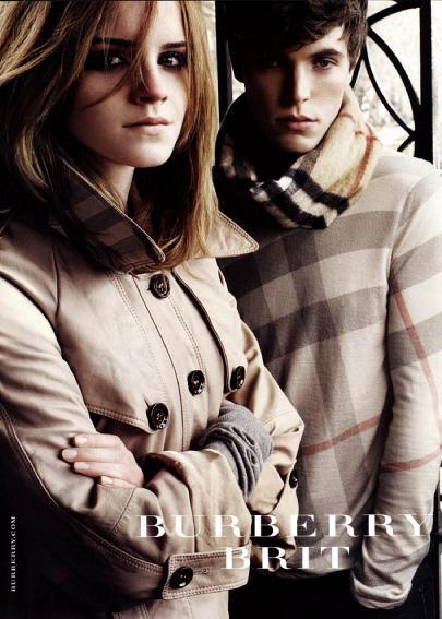 emma watson haircut burberry. makeup -Emma Watson Haircuts