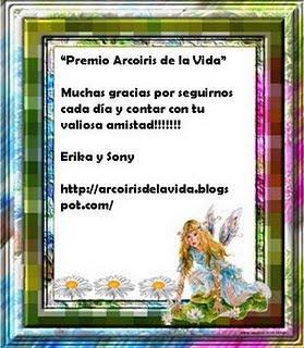 PREMIO ARCO IRIS DE LA VIDA!!!