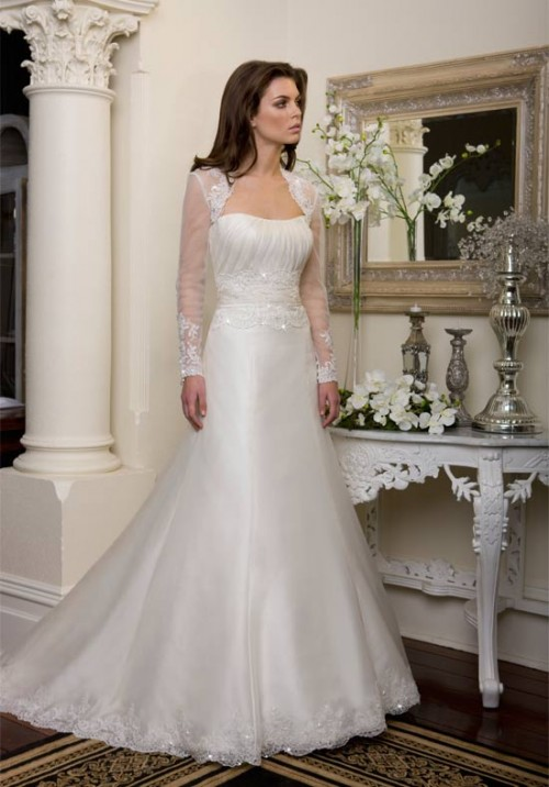 modest wedding gown best