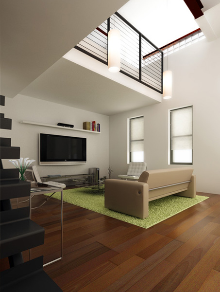 Minimalist Block home Design